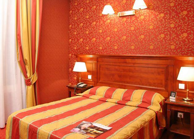chambre hotel viator paris 17