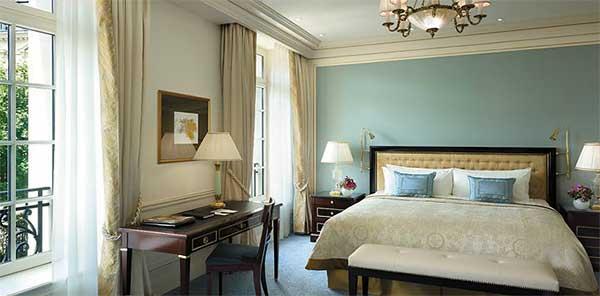 Shangri La Paris chambre