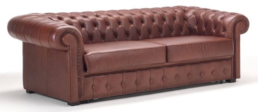 Canap s convertibles pour h tels for Canape chesterfield convertible