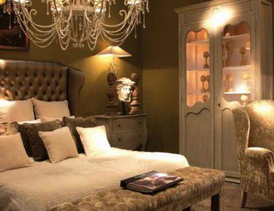 meuble de chambre capitonné style italien
