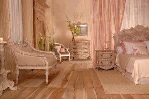 Meuble pour chambres d'hôtel style italien bois clair