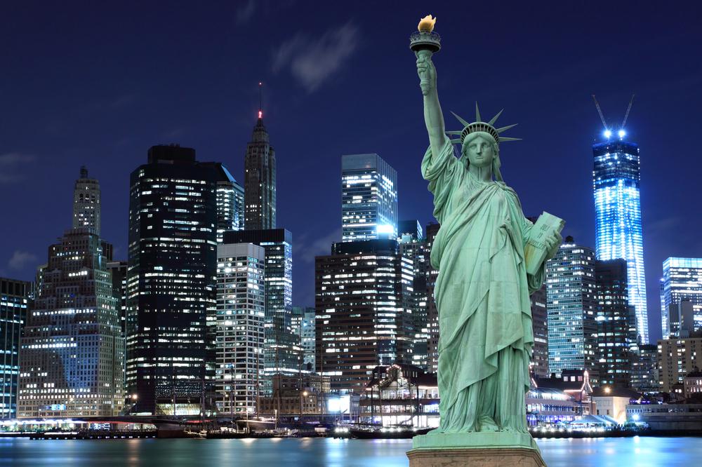 Statue de la liberté à New York aux Etats Unis